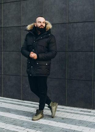 Очень теплая зимняя куртка asos аляска до -30