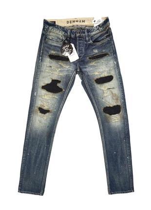 Распродажа! японские джинсы denham razor zmijas