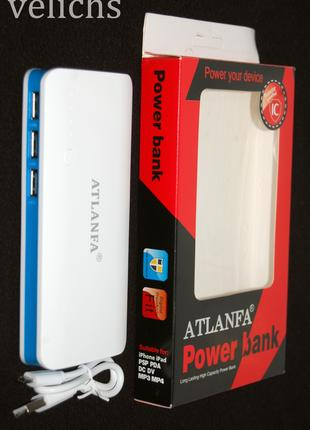 POWER BANK ''ATLANFA '' AT- D2017 12000 mAч 3 USB