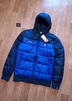 Куртка/пуховик ellesse brenta padded jacket blue