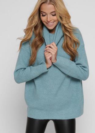 Женский свитер oversize разные цвета универсальный размер 42-46