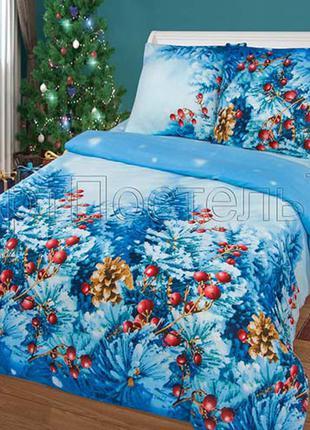 Новогоднее постельное бельё Чародейка