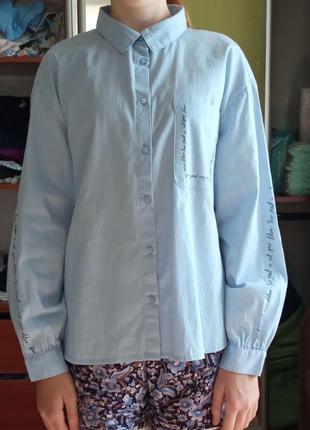 Продам рубашку ZARA 152 на девочку