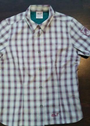 Детская спортивная рубашка от Jack Wolfskin