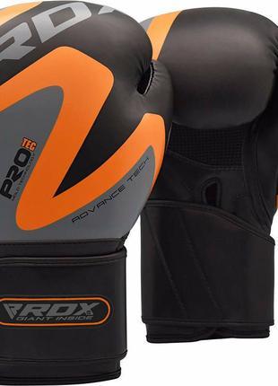Боксерские перчатки RDX синтокожа Maya Hide™ Англия 12 унций