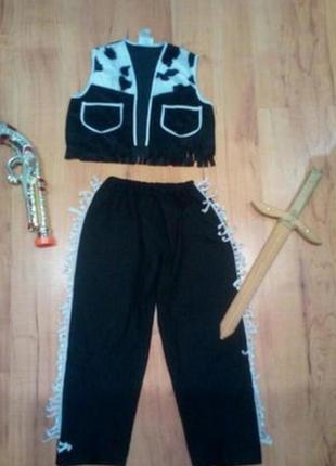 Карнавальный костюм детский ковбой шриф
