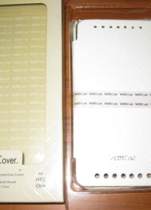 Чехол-книжка Vetti Craft  HTC One M7 Hori Cover-white