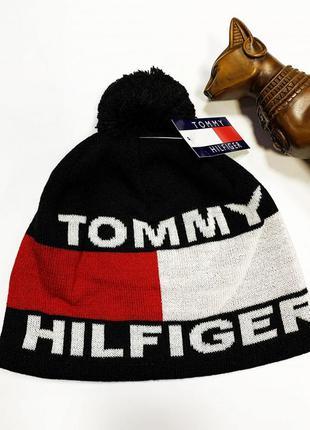 Шапка tommy hilfiger classic black