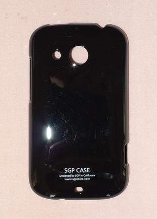 Чехол SGP для HTC Desire C A320e black 0345