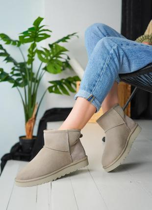 Ботинки UGG Beige
