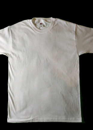 Базовые белые футболки S-XL