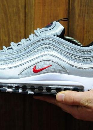 АКЦИЯ! Nike Air Max 97 Silver Bullet. Кроссовки Найк Аир Макс ...