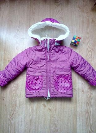 Зимняя куртка на рост 86-92