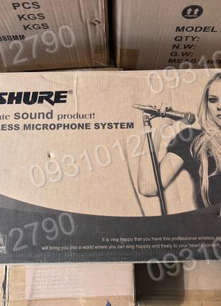 2 Два Микрофона , Радиомикрофон SHURE PGX268 профессиональный
