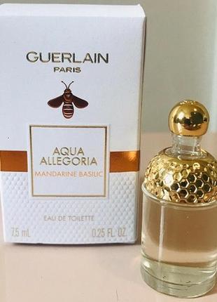 Guerlain aqua allegoria mandarine basilic.оригинал.