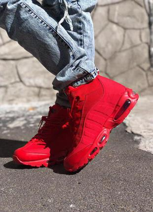 Nike Air Max Sneakerboot 95 Red