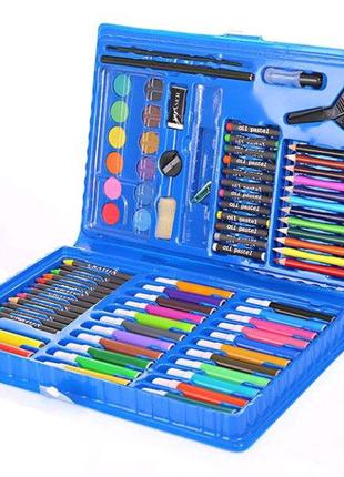Набор для детского творчества и рисования 86 предметов