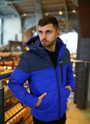 Теплая зимняя куртка, температурный режим до -21