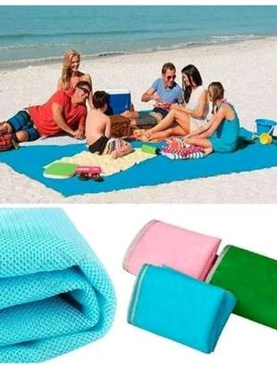 Пляжний коврик антипісок