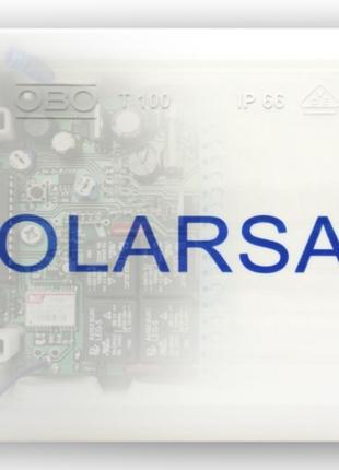 Двухосевой солнечный трекер SOLARSAN-GPS цифровой