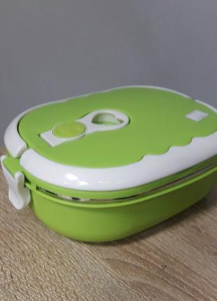 Ланч-бокс термос пищевой для еды кормления школьников
