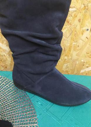 Inblu сапожки натуральный замш 39,41 размер