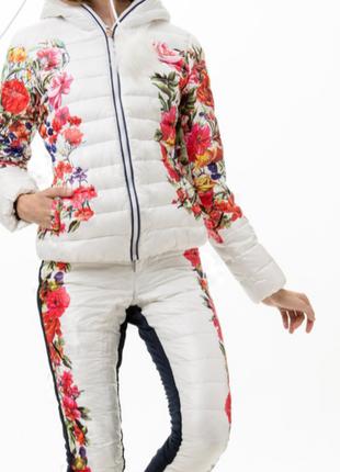 Горнолыжный костюм тройка: штаны, житет, куртка