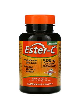 Ester-C (Улучшенный витаминC ) 500мг, 120капсул,