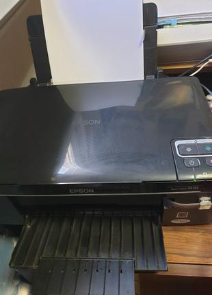 МФУ Epson Stylus SX125 3в1, принтер