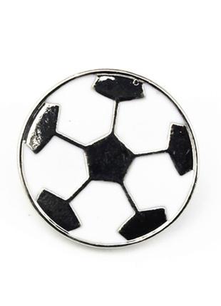 Брошь «Футбольный мяч».