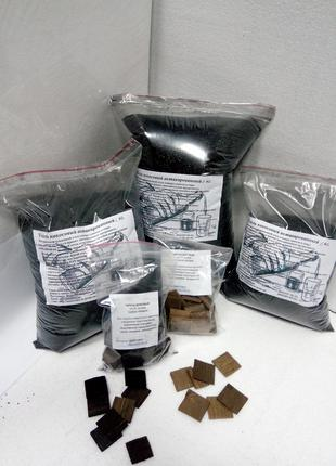 Активированный кокосовый уголь