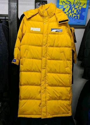 Пуховик пальто мужское зима