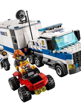 Конструктор Лего Сити Передвижной Мобильный центр 10657