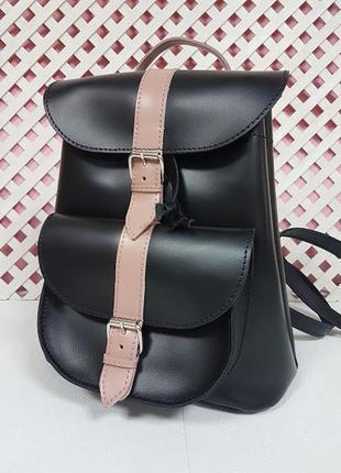 Рюкзак женский кожаный вояж