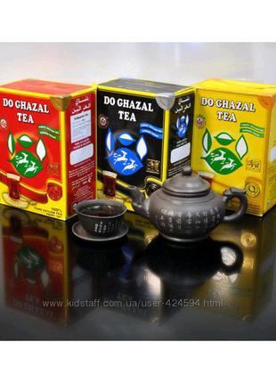 Чай Цейлонский Do Ghazal 500г Две газели Akbar