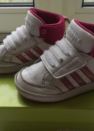 Хайтопы кроссовки Adidas Neo 14 см