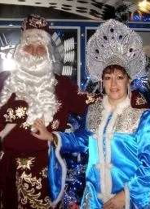 Дед Мороз и Зимушка-Зима на новогодние праздники