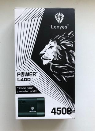 Power Bank Lenyes внешний аккумулятор powerbank 10000 mAh