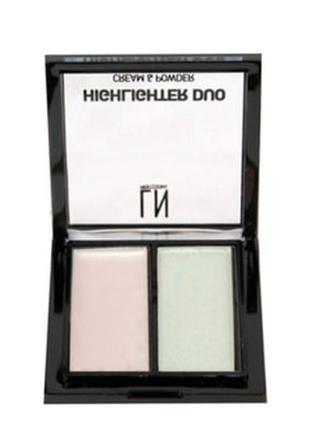 Палетка хайлайтеров для лица ln professional highlighter kit d...
