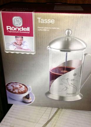 "Френч-пресс ""Rondell"". Чайник-заварник"
