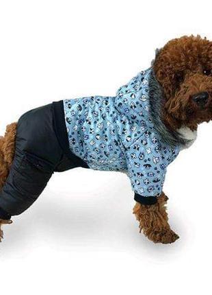 Одежда для собак зимний комбинезон