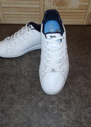 Lonsdale leyton кожаные мужские кроссовки , скейтера