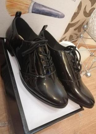 Стильные туфли оксфорды лоферы  nine west