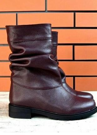 Женские зимние ботинки сапоги зима зимові сапожки