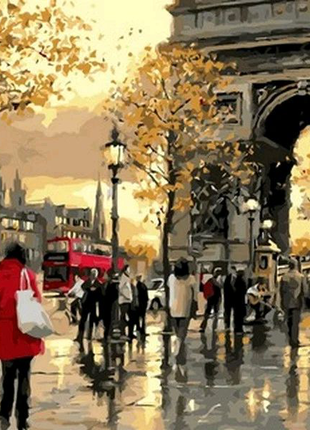 Картина по номерам Вечерний Лондон. Худ. Ричард Макнейл