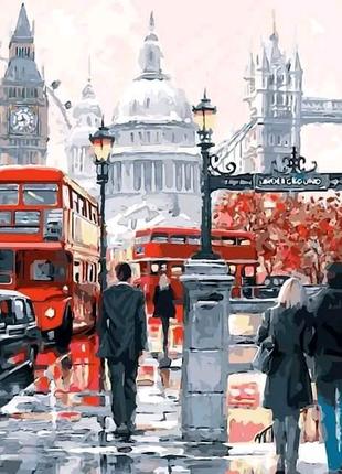 Картина по номерам Очарование Лондона. Худ. Ричард Макнейл