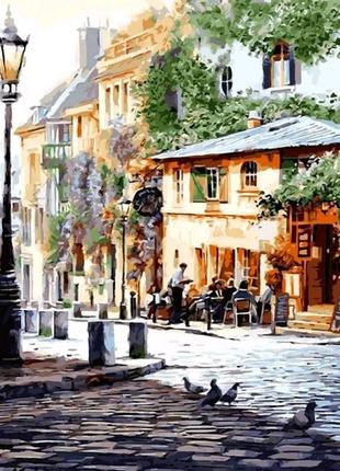 Картина по номерам Италия Летнее кафе. Худ. Ричард Макнейл