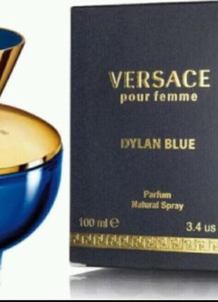 Женская парфюмированная вода Versace Pour Femme Dylan Blue, 100 м