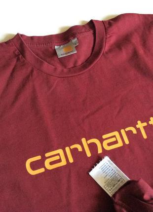 Мужская футболка carhartt оригинал размер l-xl