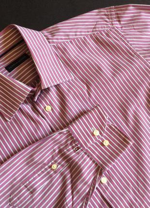 Мужская рубашка tommy hilfiger оригинал размер 42 16 1/2
